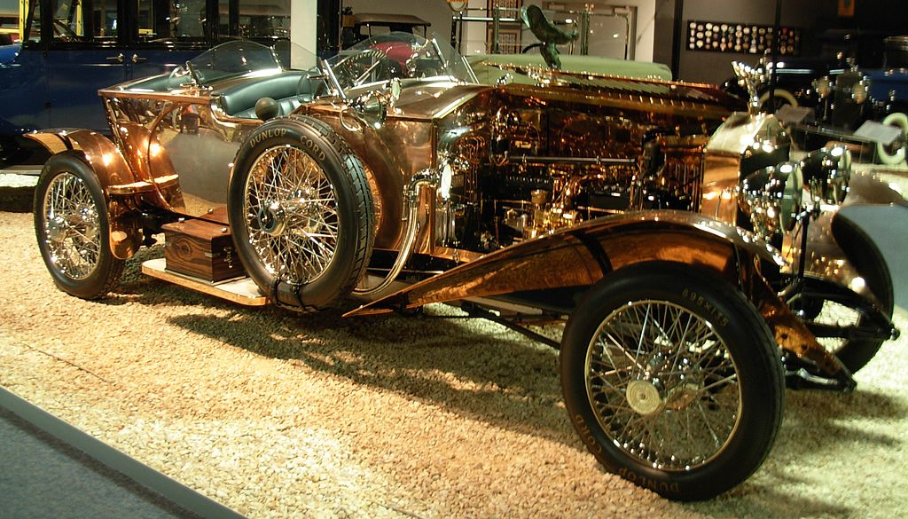 1921 Rolls-Royce Silver Ghost, National Automobile Museum, Lake St, Reno, Nevada, USA. | ©brewbooks/WikiCommons