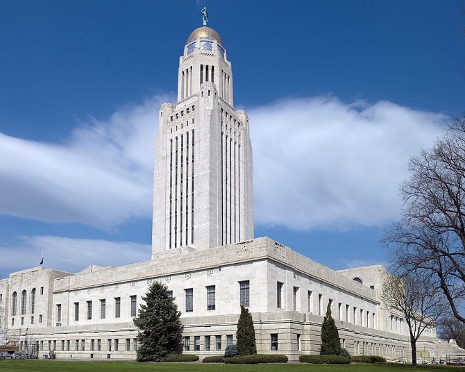 Nebraska State Capitol Building | ©Carol J. Highsmith/Wikimedia Commons