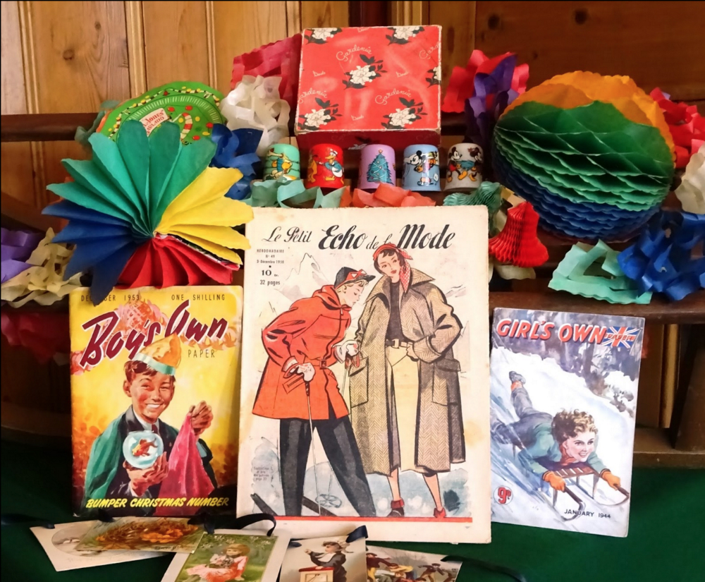 Some of the goodies on offer | Courtesy of North London Vintage Christmas Market
