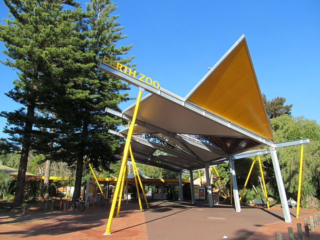 Entrance to the Perth Zoo, South Perth, Western Australia ©Orderinchaos/WikiCommons