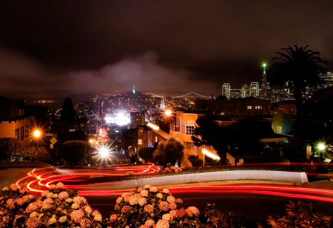 View from the top of Lombard Street | © Dawn Ellner/Flickr