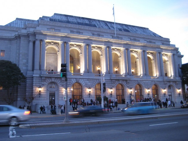 War Memorial Opera House | © jwalsh/Flickr