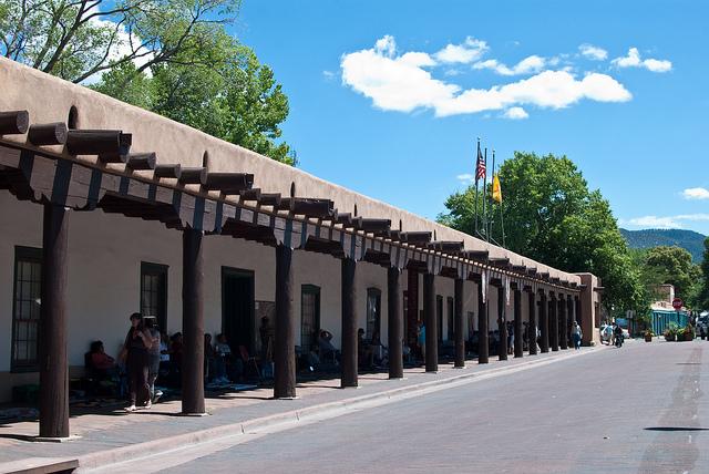 Governor's Palace in Santa Fe | ©Krissa Corbett Cavouras/Flickr