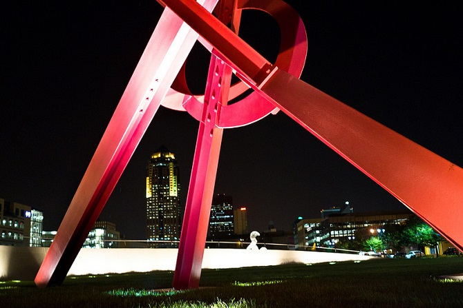 John and Mary Pappajohn Sculpture Park | ©Phil Roeder/Flickr