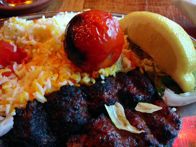 Kabab Koobideh with Persian Rice | ©su-lin/Flickr