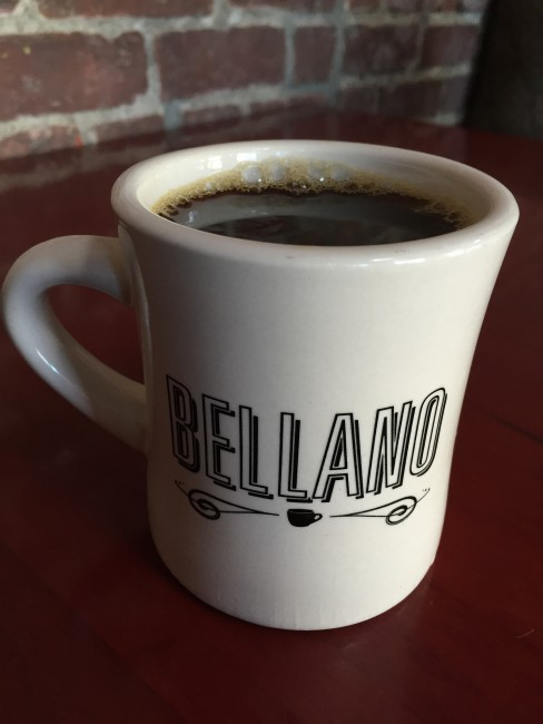 Bellano Coffee Mug at San Pedro Square Market | © Bex Walton/Flickr