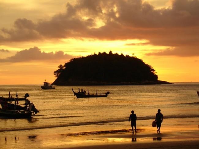 Kata, Phuket sunset | © mst7022/Flickr