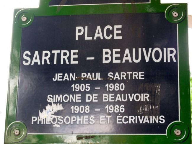 Place Sartre-Beauvoir | © Joanna Penn/Flickr