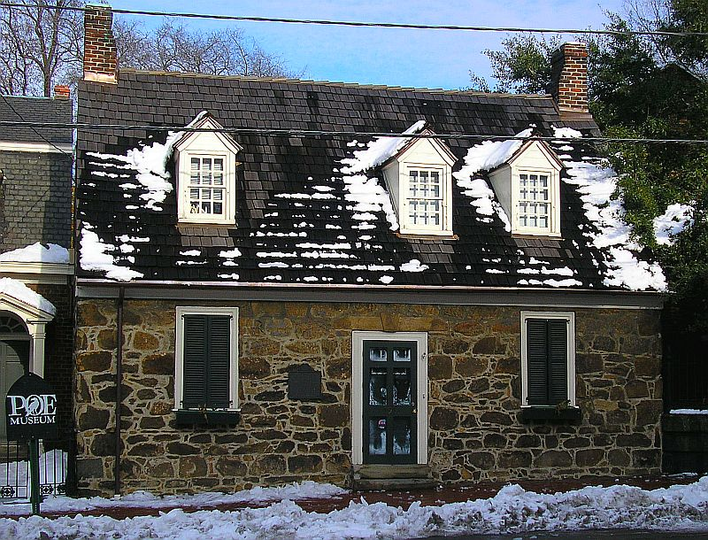 Old Stone Building Poe Museum