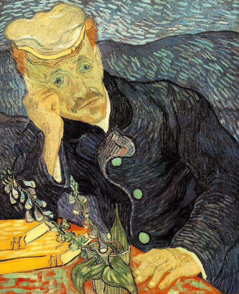 Vincent van Gogh, Portrait of Dr. Gachet, 1890 | © Vincent van Gogh/WikiCommons