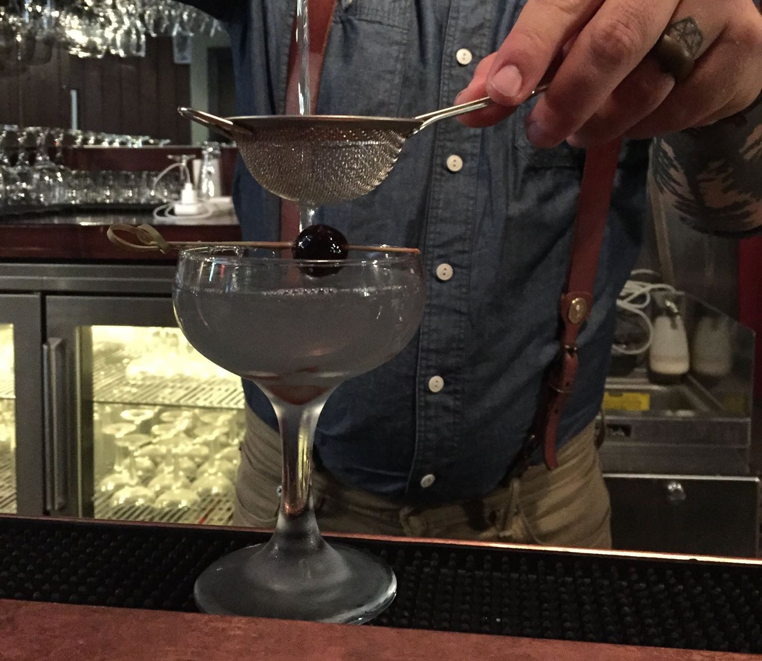 Cocktail in the making | Courtesy of Press & Pony