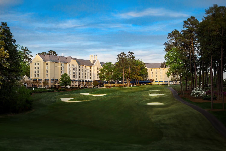 Rear Exterior   Courtesy of Washington Duke Inn & Golf Club