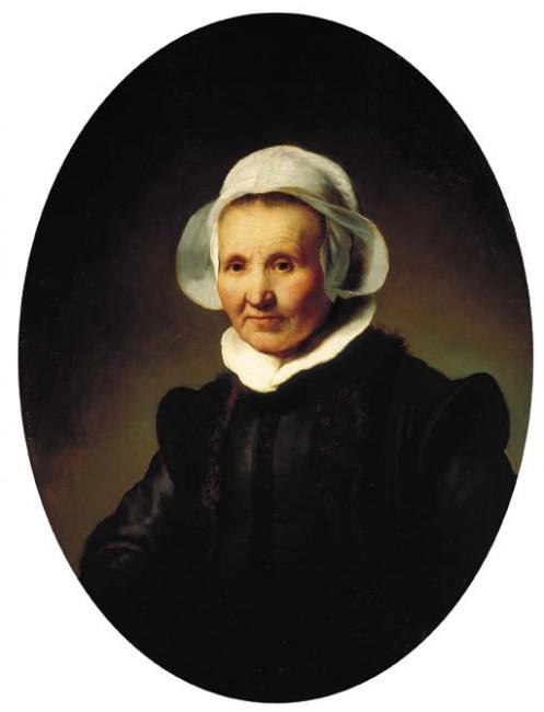 Rembrandt, Portrait of a Lady, Aged 62, 1632 | © Rembrandt/WikiCommoms
