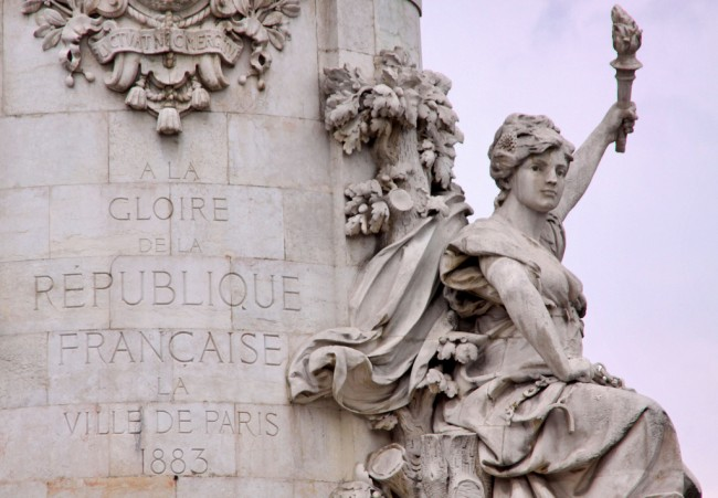 République statue detail | © Guillaume Baviere/Flickr