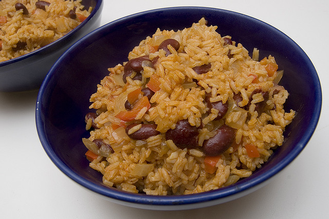 Rice and beans | © Paul Goyette/Flickr