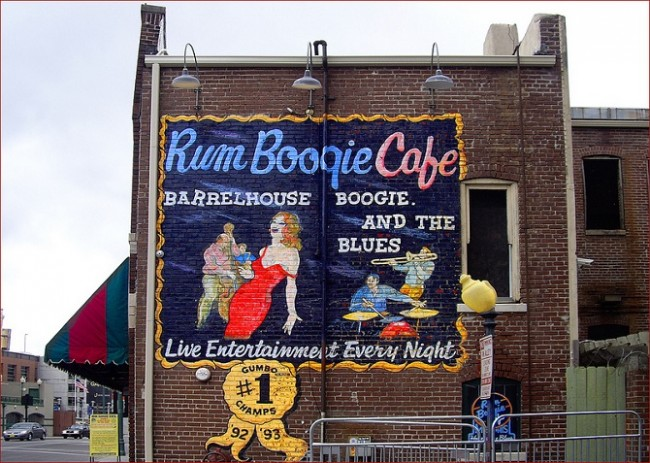 Rum Boogie Café | ©Ron Cogswell/Flickr
