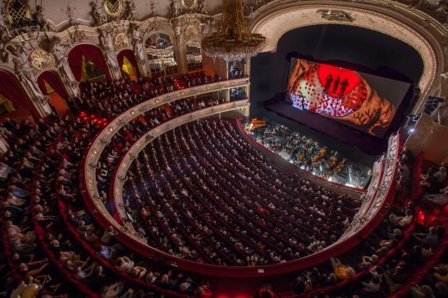 Inside Komisch Oper | © Gunnar Geller