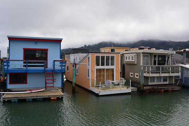 Sausalito waterfront homes © Daniel Hartwig_Flickr