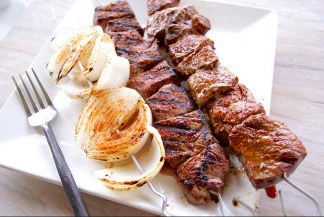 Beef Shish Kabob Recipe|©Caboose Spice & Company