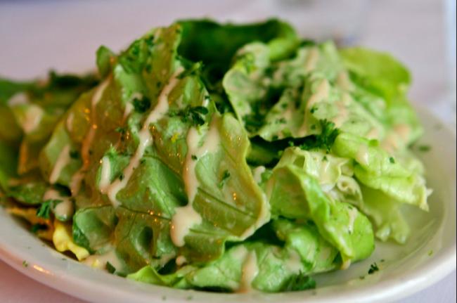 La Fourchette La Salade Verte|©Susan Lucas Hoffman