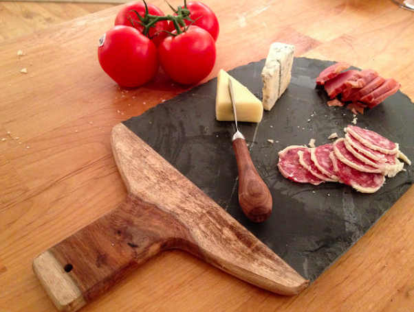John's meat and cheese board|©Joanna Alderson