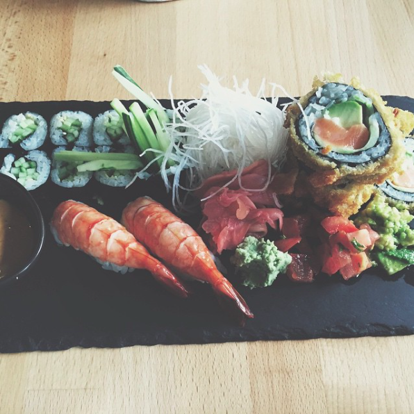 Sushi at Com A | © FoodieBerlin