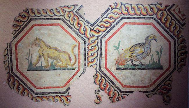 Detail from 1st Century Mosaic|©Ken & Nyetta