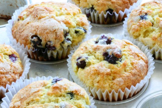 Blueberry muffins for breakfast|©Steven Jackson