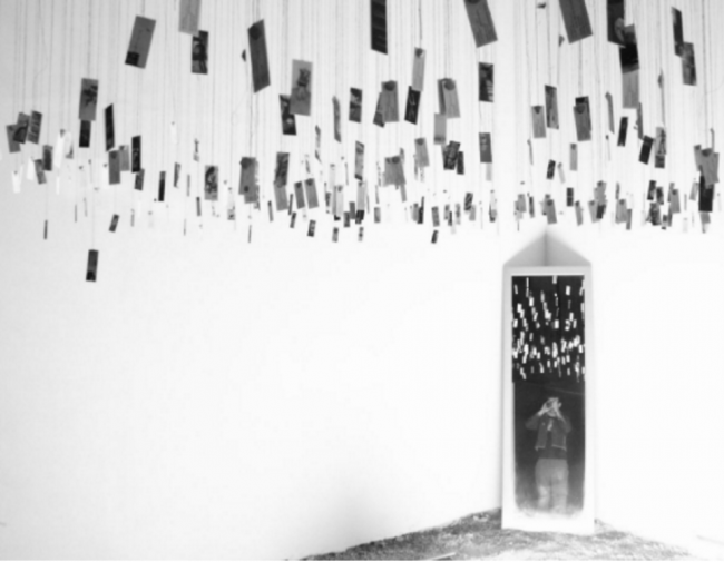 Art Project in Italy by Rei Dishon | Courtesy of Rei Dishon