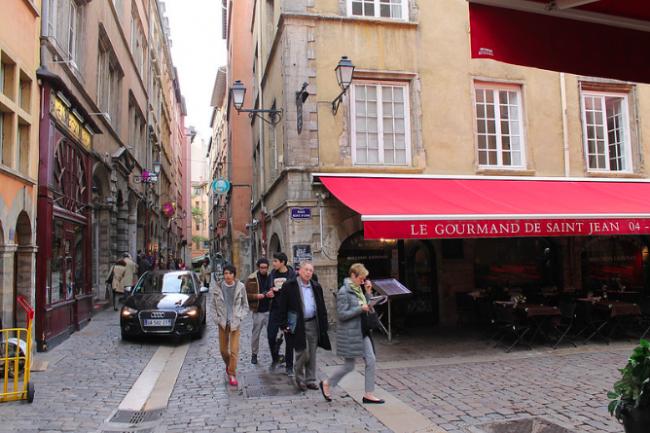 Vieux Lyon Streets ©Connie Ma