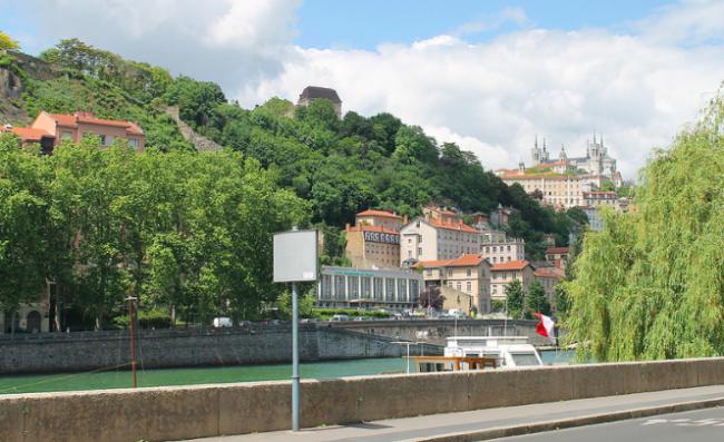 Vieux Lyon and Fourvière ©Connie Ma