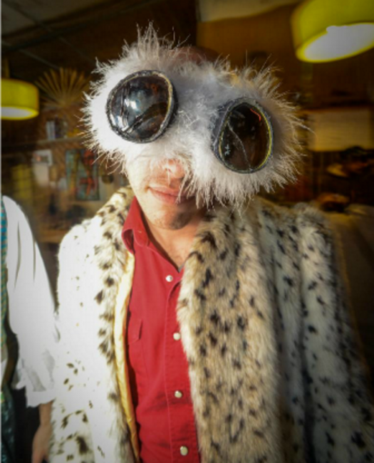 Rei at Burning Man | Courtesy of Rei Dishon