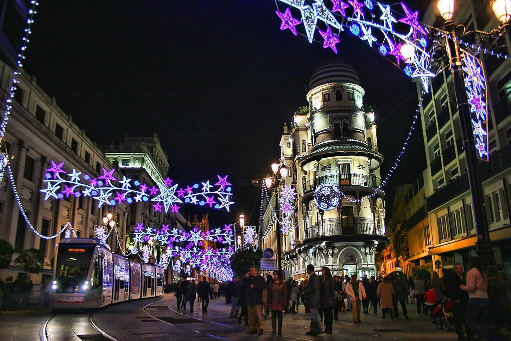 Christmas in Seville | © Magnus Manske/WiKiCommons