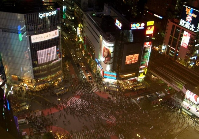 Shibuya crossing | © User: Angaurits/WikiCommons