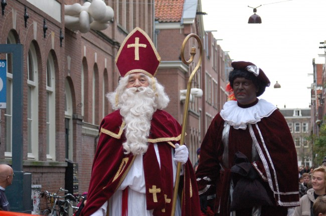 Sinterklaas and Black Pete © Michell Zappa/WikiCommons