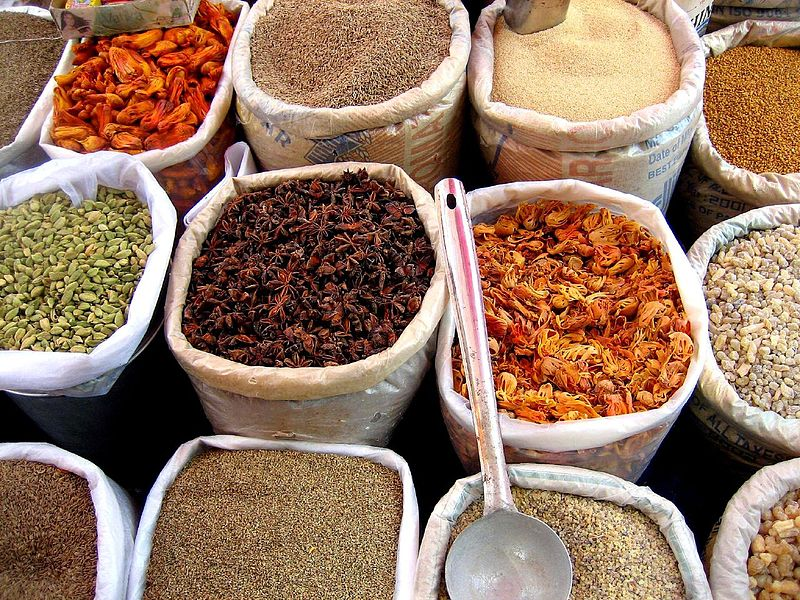 Spices | © judepics/WikiCommons