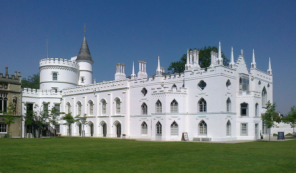The beautiful Strawberry Hill House | © Jacek Halicki/WikiCommons