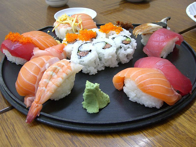 Sushi | © Alpha/Flickr