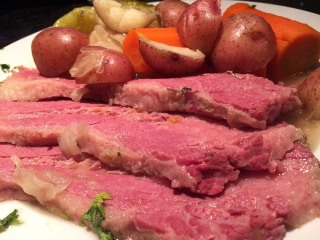 The Ale House Grill's corned beef and cabbage | Courtesy The Ale House Grill