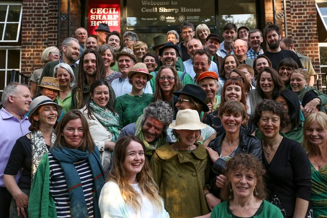 The Cecil Sharp House Choir will be performing at Festive Gathering | Courtesy of EFDSS