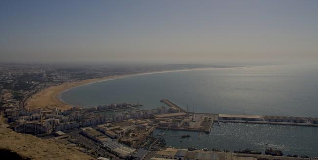 Agadir from the Kasbah | © Davide Palmisano/Flicker