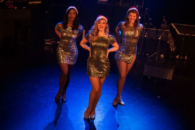 The Stax Sisters, T'Shan Williams, Hannah Kee and Sasi Strallen   © Piers Foley Photography