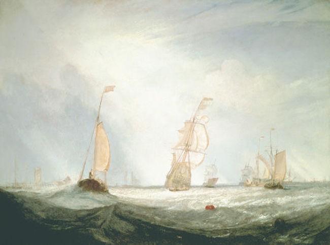 Helvoetsluys | © J. M. W. Turner [Public domain]/WikiCommons