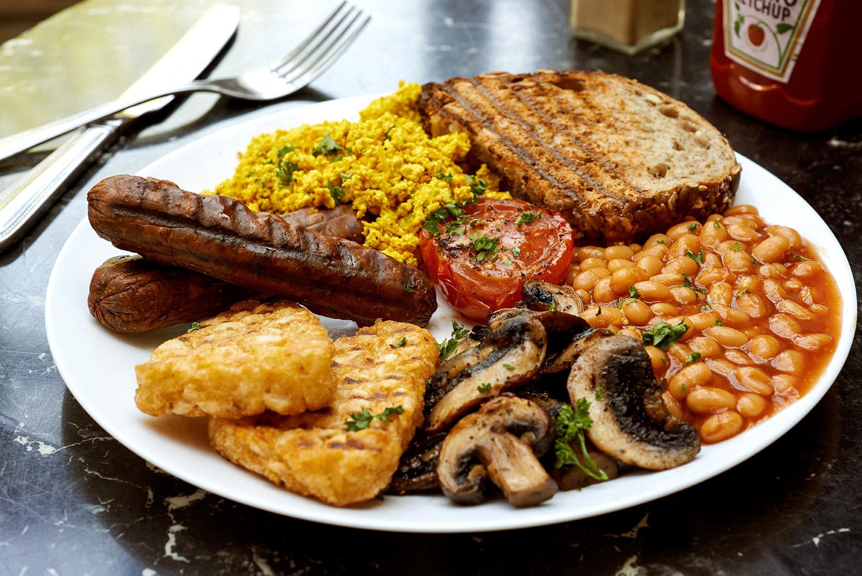 Vegan full English at The Gallery Cafe |Courtesy ofAmanda Stockley