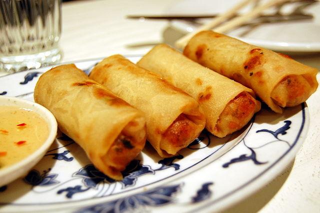 Vietnamese Spring Rolls | © Stu Spivack/WikiCommons