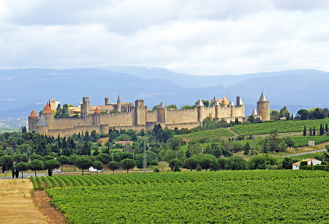 View of Carcassonne | © Dennis Jarvis/Flickr