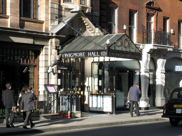 Wigmore Hall | © Timothy Robson/Flickr