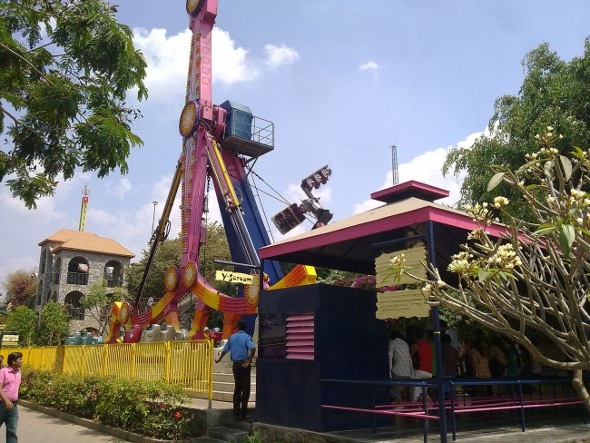 Wonderla-rides|© Avoided blue Wikimedia