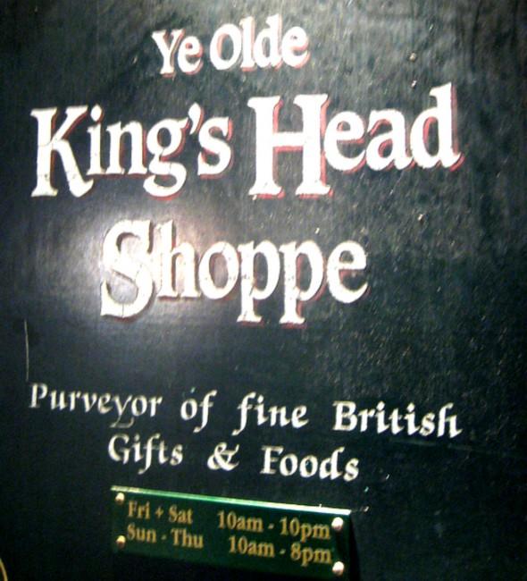 Ye OldeYe Olde English Shop sign   © Annie Mole/Flickr English Shop sign @ Annie Flickr