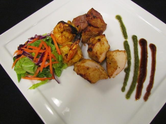 Zaika's Food is Presented Artfully | Courtesy of Zaika